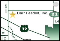 Darr Feedlot Map